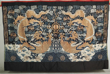 A CANOPY, MID 19TH CENTURY, QI