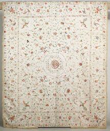 A CANTON COVERLET, CIRCA 1800