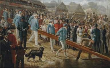 The Boat Race, Cambridge on th
