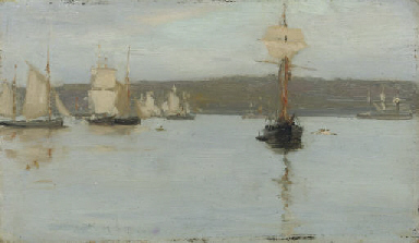Schooners at Falmouth
