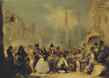 Figures on the 'Almeda de Herc