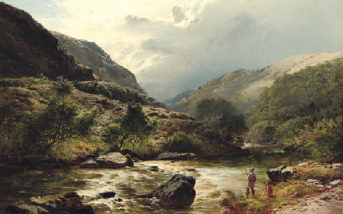 Fishing on a Highland River