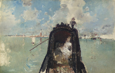 Woman in a Gondola with San Gi