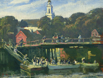 Regatta at Kennebunkport