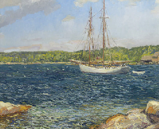 The Bowdoin, Monhegan Island