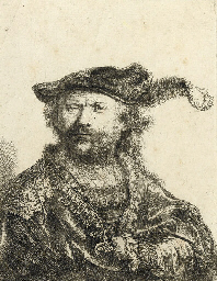 Self-Portrait in a velvet Cap
