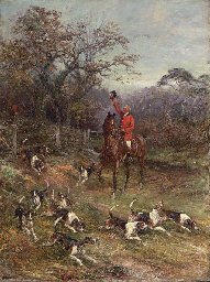 Hounds on the Scent leaving a