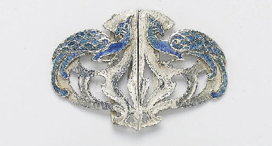 LIBERTY & CO.; PEACOCKS BUCKLE