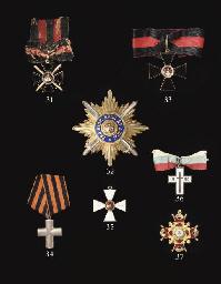 A St. Vladimir cross, 3rd clas