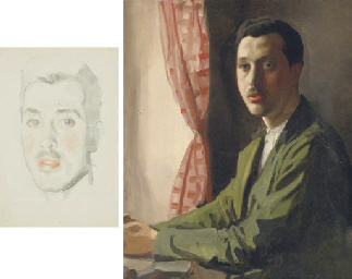 Portrait of a young man with a