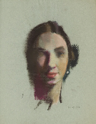 Portrait of Kira Petrovna Verk