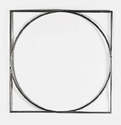 Vierkant en cirkel in overgang