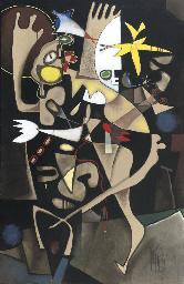 Vogeltänzer - Hommage à Miró