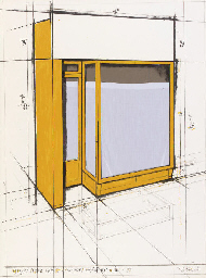 Yellow store front, Project (S