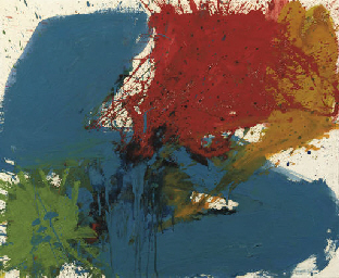Sam Francis sit in Jet