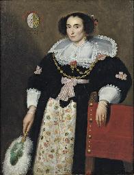 Portrait of Anna van den Bogae