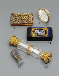 A CONTINENTAL GOLD-MOUNTED TOR