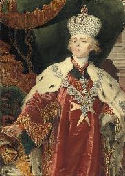 Tsar Paul I (1754-1801), stand