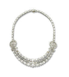 A DIAMOND NECKLACE, BY BOUCHER