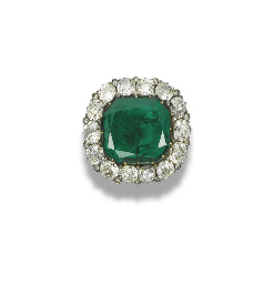 AN IMPORTANT ANTIQUE EMERALD A