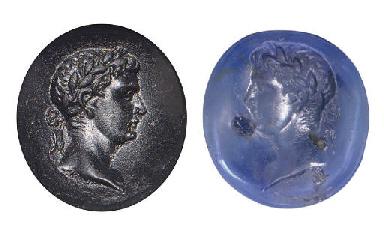 A ROMAN SAPPHIRE RING STONE