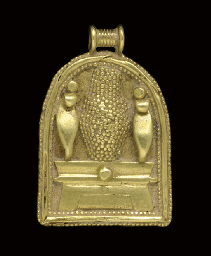 A CARTHAGINIAN GOLD PENDANT