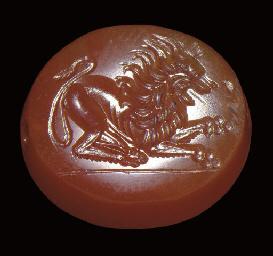 A GRAECO-PERSIAN CARNELIAN SCA