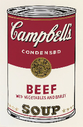 andy warhol beef with vegetables and barley soup andy warhol campbell's soup
