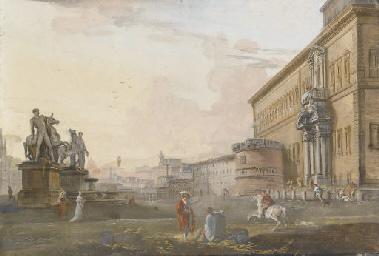 Veduta del palazzo del Quirina