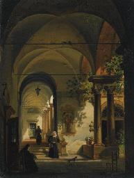 Interno di convento