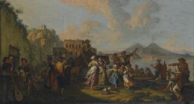 Tarantella a Palazzo Donn'Anna