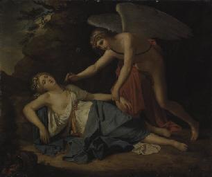 Cupido ritrova Psiche addormen