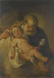 San Giuseppe e Gesù Bambino