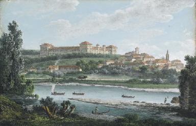 Veduta del Castello di Moncali