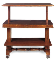 AN EARLY VICTORIAN MAHOGANY TH