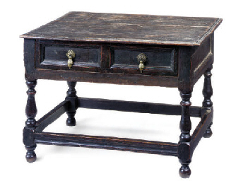 AN ENGLISH LOW TABLE