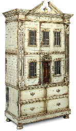 A PAINTED DOLL'S HOUSE