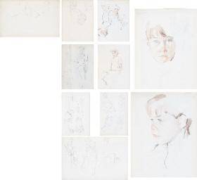 Three sketch albums: Album no.