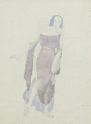 A costume design for Tamara Pa