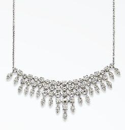 COLLIER DRAPERIE DIAMANTS, PAR