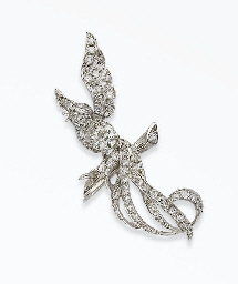 CLIP OISEAU DIAMANTS