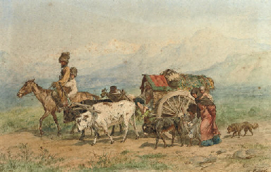 Travellers in a Caucasian land