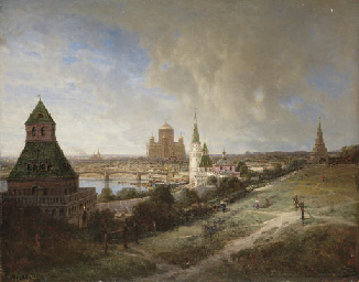 Moscow. View of the Cathedral