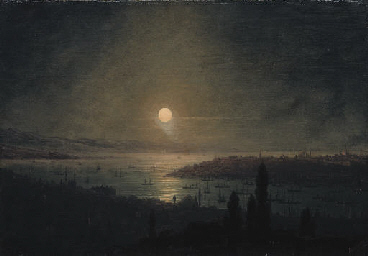 View of Constantinople at nigh