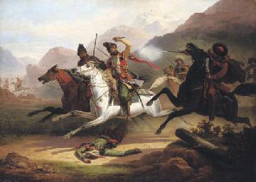Caucasian battle