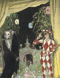 Harlequin and death