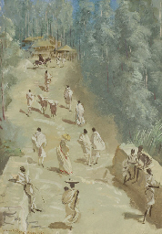 Étude de villages Éthiopiens,