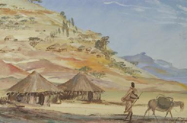 Étude des villages Éthiopiens,