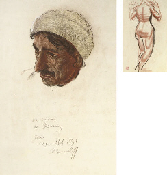 Portrait of an Afghan (illustr