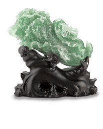 A JADEITE CARVING
